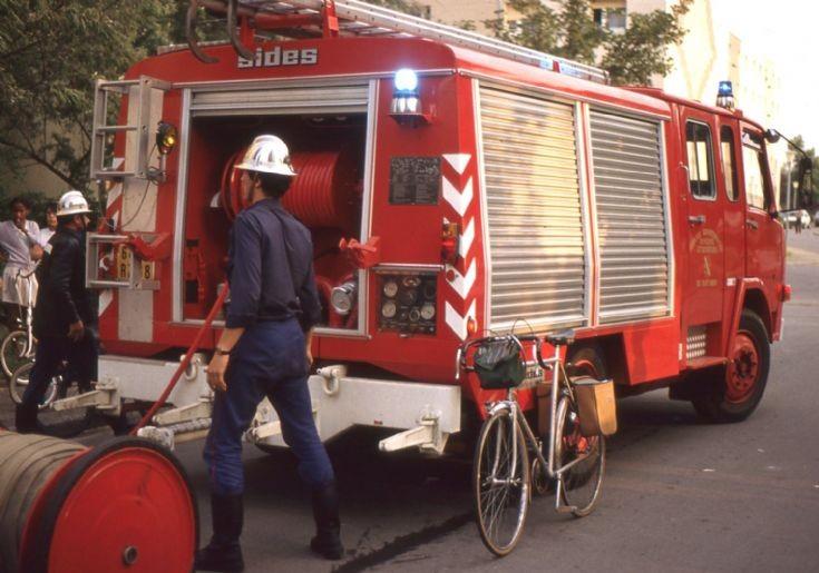 Sapeurs Pompiers Colmar 68 - Berliet Pumper