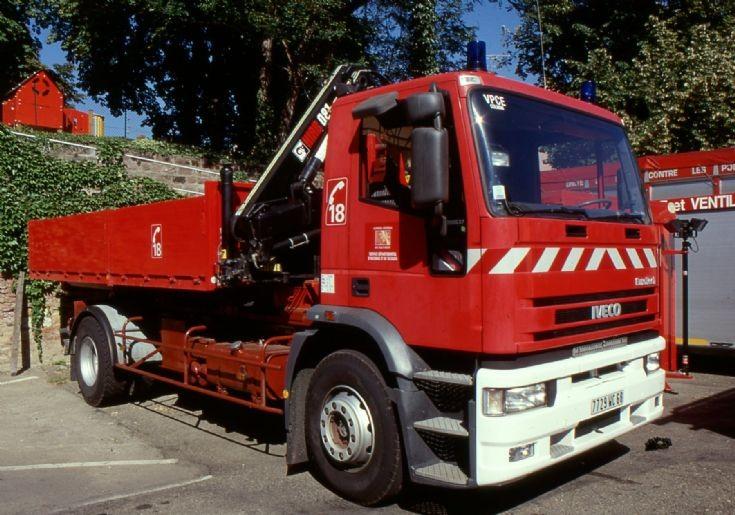 Sapeurs Pompiers Colmar 68 - Prime mover