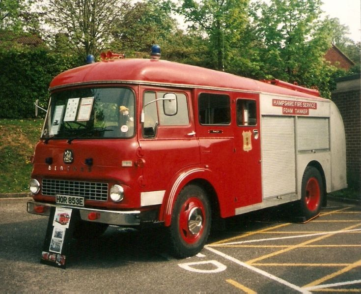 Bedford  TK  Hampshire Fire Service