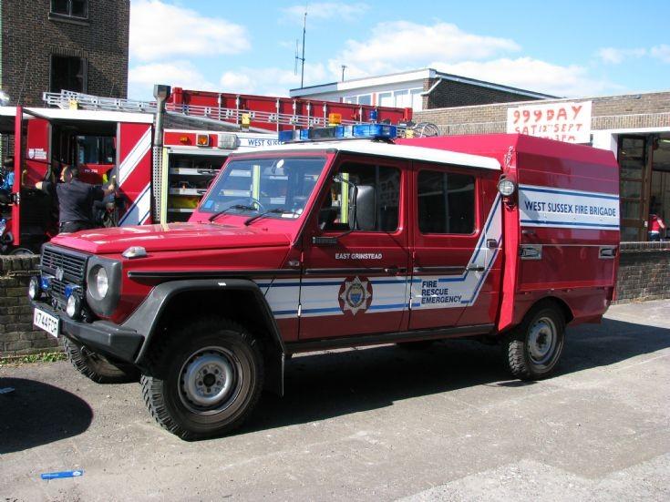 East Grinstead Steyr Puch 4x4