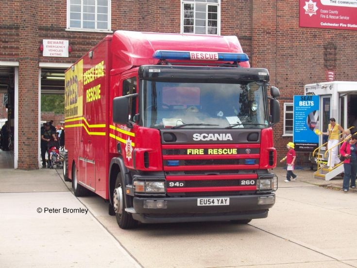 Essex County FRS - Colchester Rescue Tender