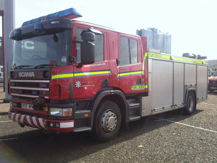 Strathclyde Fire SF03MPX Heavy rescue