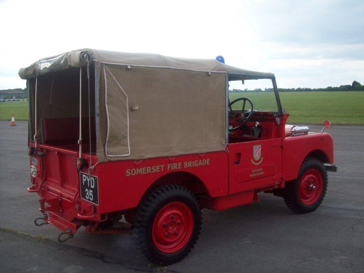 Somerset Land Rover PYD35 back