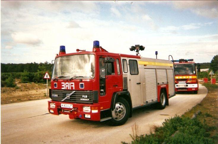 Dorset  Fire & Rescue Service  2007 Volvo