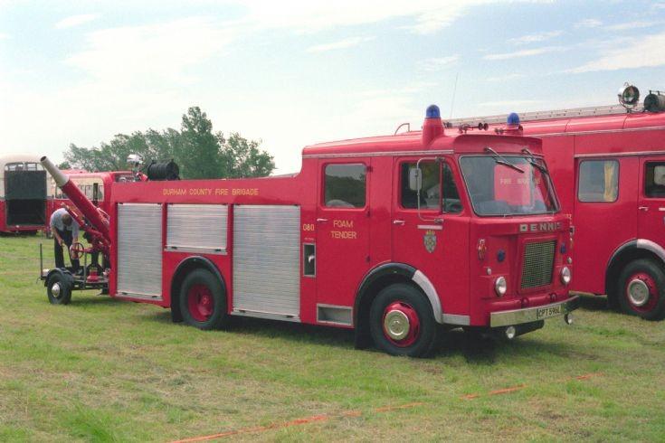 Durham FoT Teesside 1984/5.