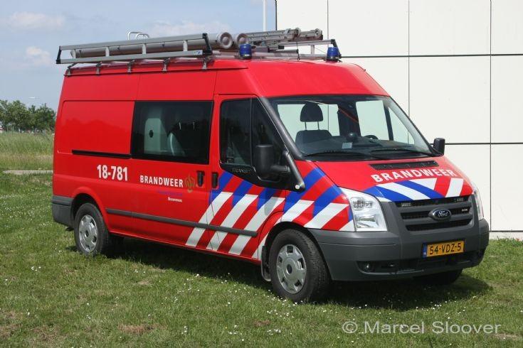 Brandweer Maasdam Ford Transit