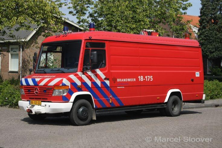 Fire station Heinenoord Mercedes Vario