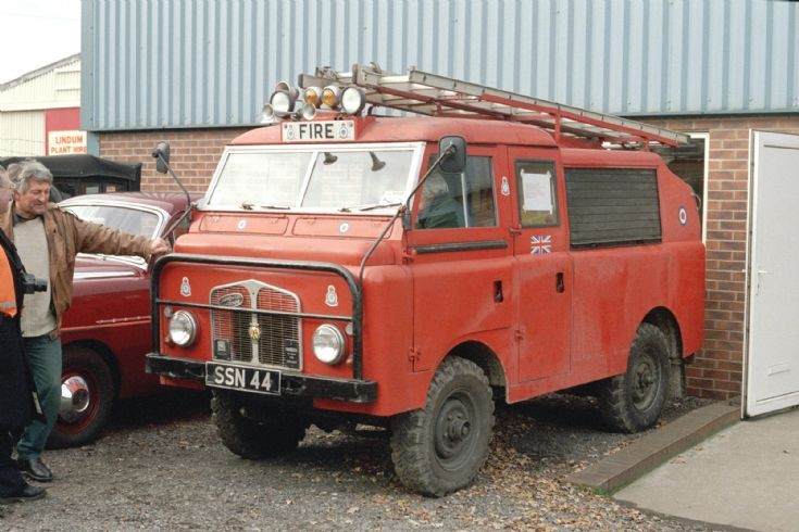 Fire Engines Photos Ex Raf Forward Control Landrover