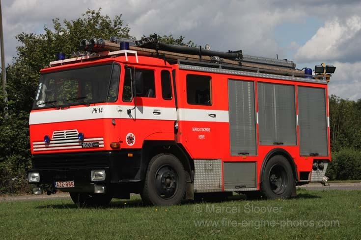Pompier Herve Battice DAF 1600 pump