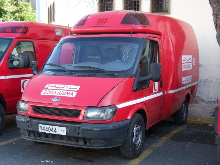 Morocco - Casablanca Ford Ambulance