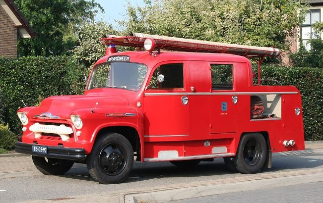 Brandweer Zegveld Chevrolet Viking pumper