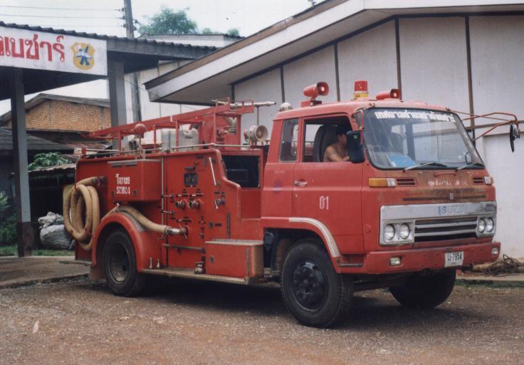 Thailand Isuzu Pumper