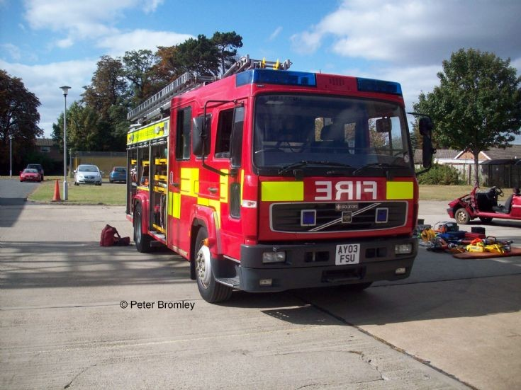 Suffolk Fire & Rescue - Training Centre Volvo