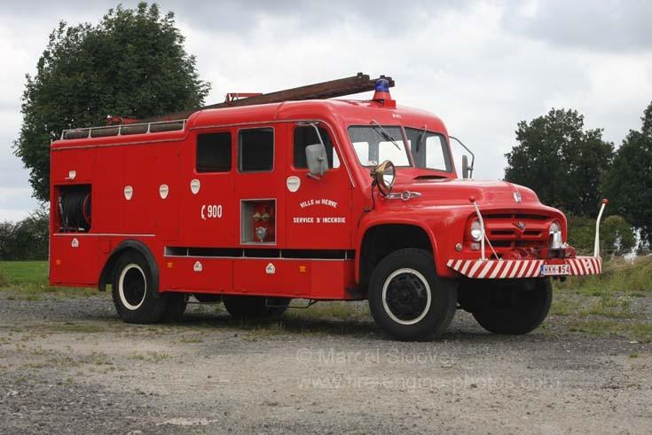 Pompiers Herve Ford Big Job F800 V8