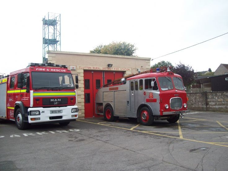 Dennis and MAN Paulton Fire station