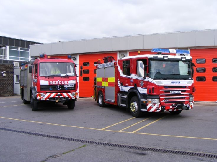 West Sussex fire rescue service