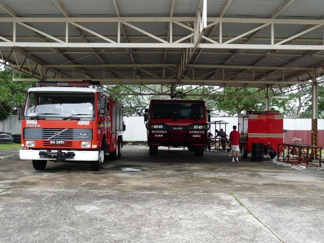BFRD Special Squad garage