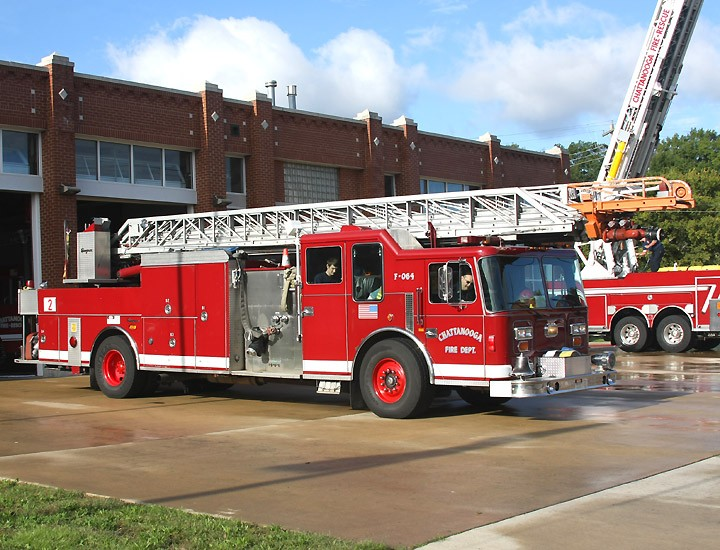 C'nooga Fire Rescue Quint #2