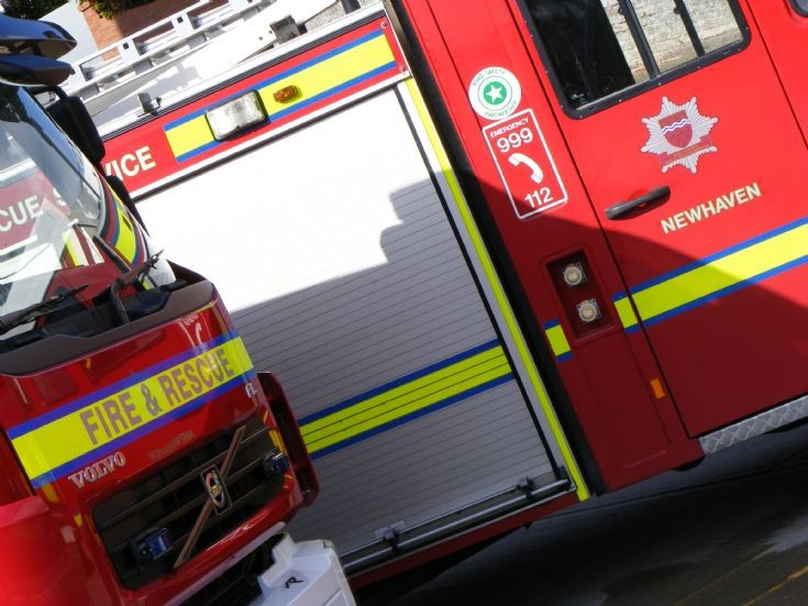 East Sussex Fire Rescue Service Newhaven units