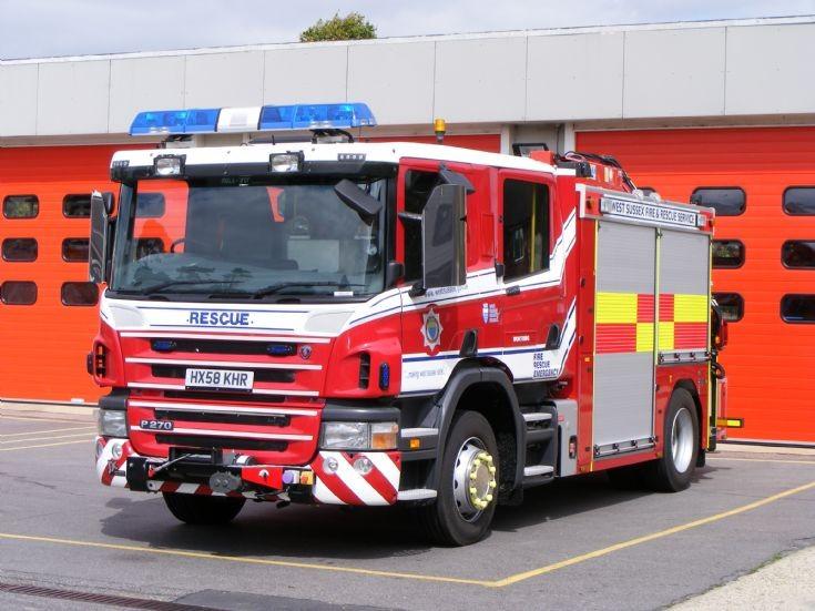 West Sussex Fire & Rescue Service HRT