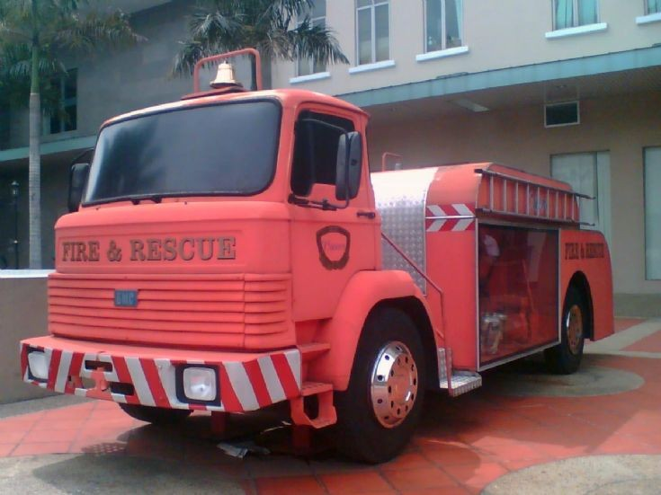 BMC Fire Engine