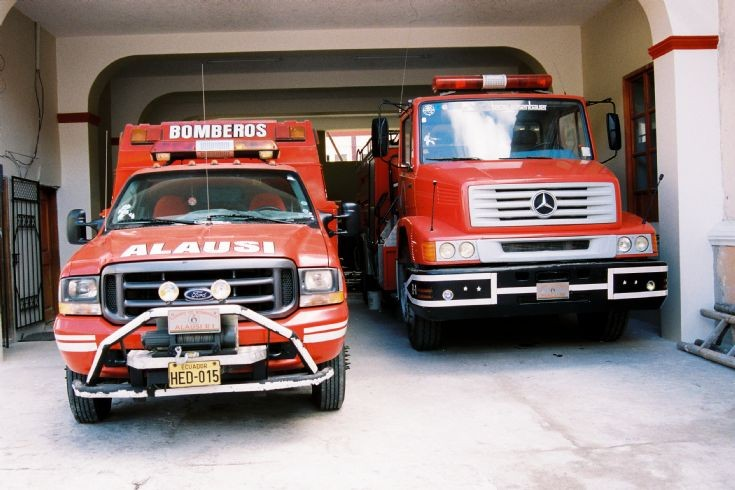 Alausi Bomberos (Firefighters)