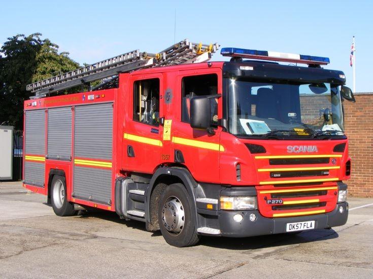 Merseyside Fire & Rescue Service tender