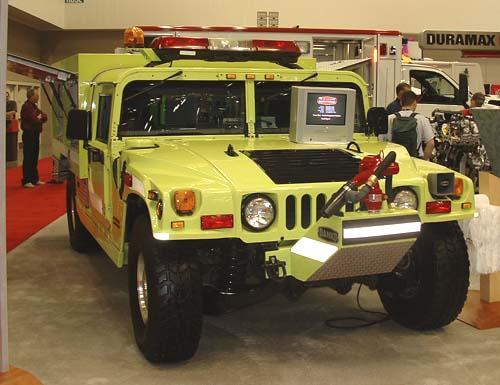 Hummer Rapid Response Truck