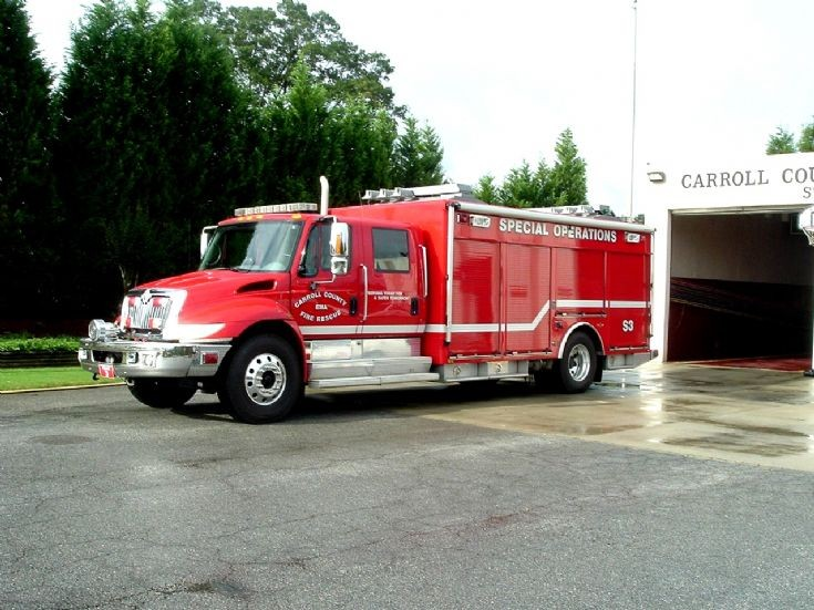 Fire Engines Photos - Carroll County Fire Rescue Squad 3