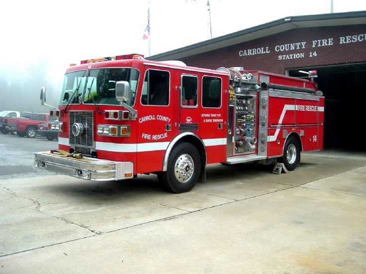 Fire Engines Photos - Carroll County Fire Rescue Engine 14