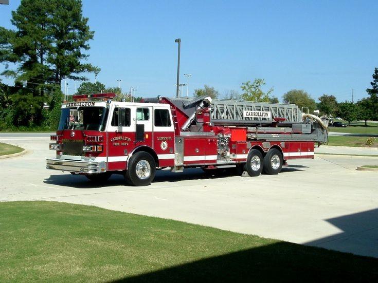 Carrollton Fire Department Old Ladder 21