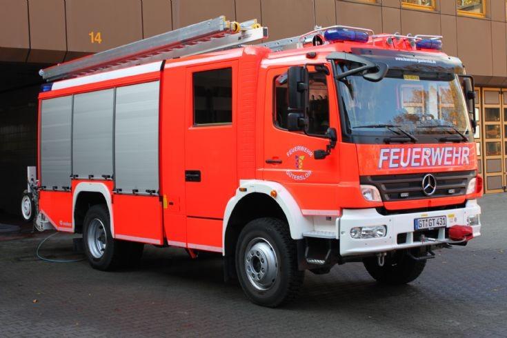Feuerwehr Gutersloh Mercedes Atego