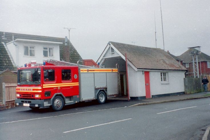 Keymer Fire Station,West Sussex Fire & Rescue.
