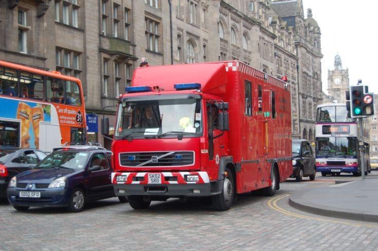 Lothian and Borders Control Unit Volvo