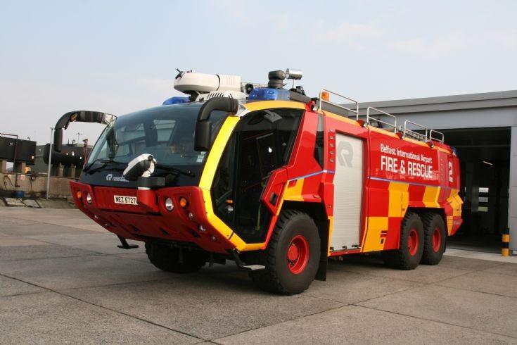 Belfast International Airport Fire 2 Panther