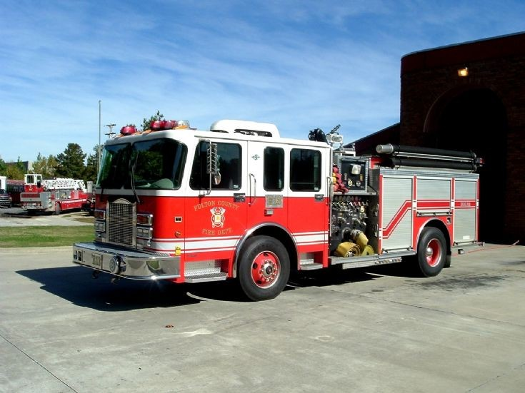 Fulton County Fire Department Engine 13