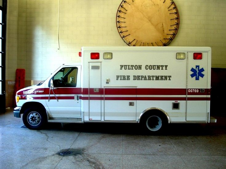 Fulton County Fire Department Ford Ambulance