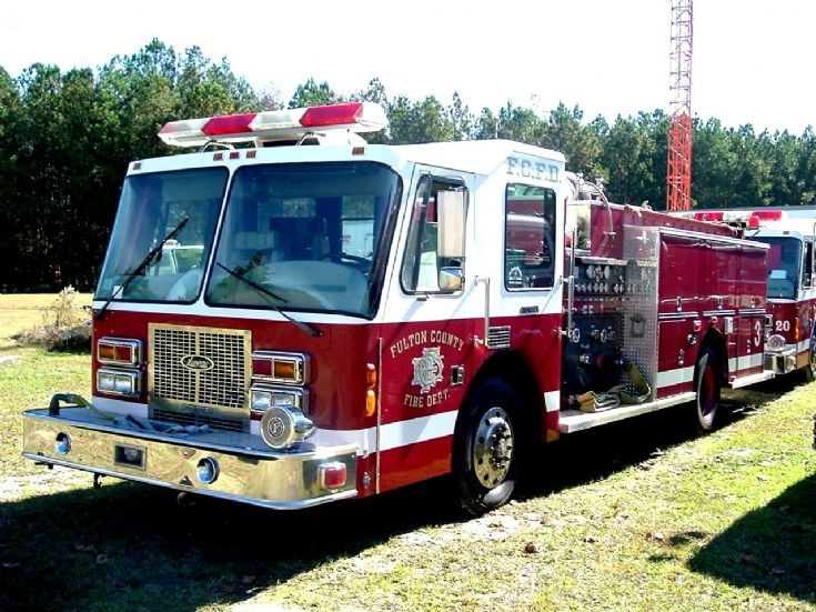 Fulton County Fire Department Engine 3