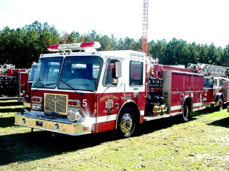 Fulton County Fire Department Engine 5