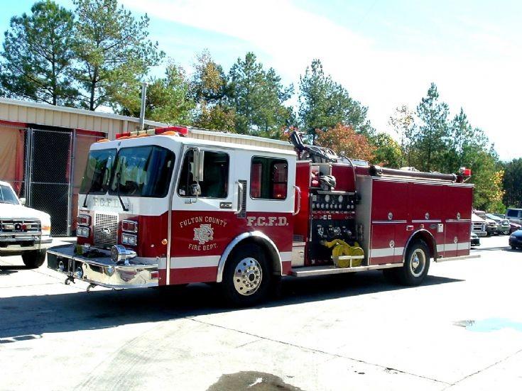 Fulton County Fire Department Reserve Pumper