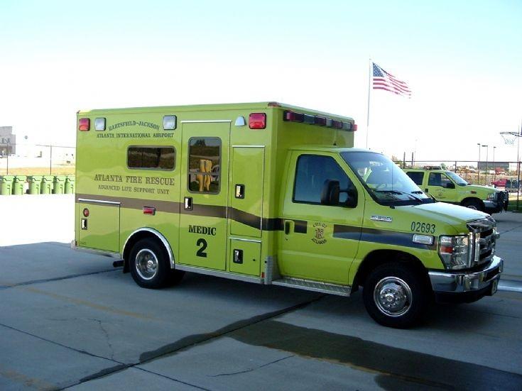 Atlanta Fire Rescue Medic 2 Ford