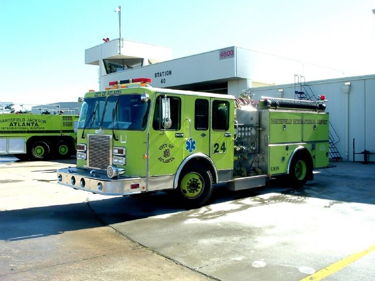 Atlanta Fire Rescue Engine 40