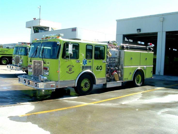 City of Atlanta Fire Rescue Engine 40