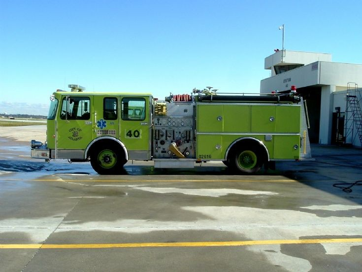 City of Atlanta Fire Rescue Engine 40 at Airport