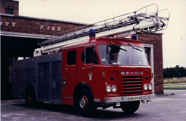 SDM391M County of Clwyd Fire Service