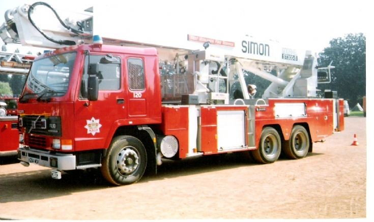 West Midlands F.S. Volvo ALP