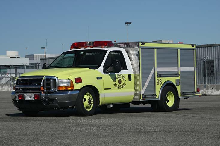 San Francisco Airport Fire department Medical unit