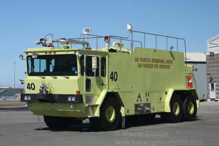 Rescue 40 Oshkosh T-3000 crashtender SF