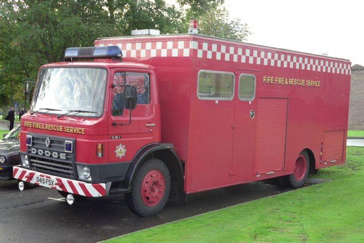 D415FSX Dodge CU of Fife Fire Brigade