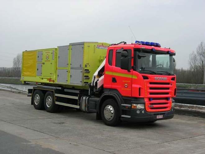 Fire Brigade Dendermonde - Belgium Prime mover